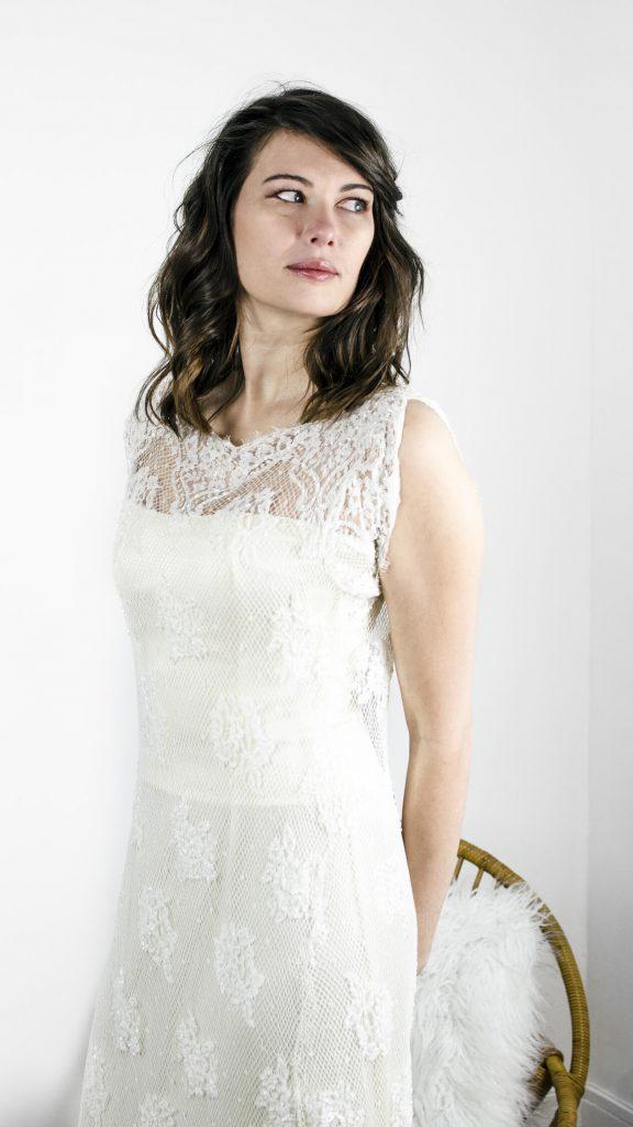 robe de mariée, robe bohême, bohême chic