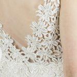 robe de mariée, mariage civil, robe courte, dentelle