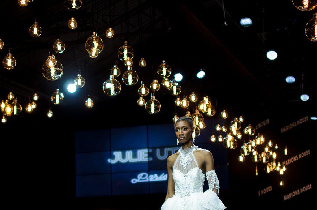 défilé créatrice Julie UTH salon du mariage