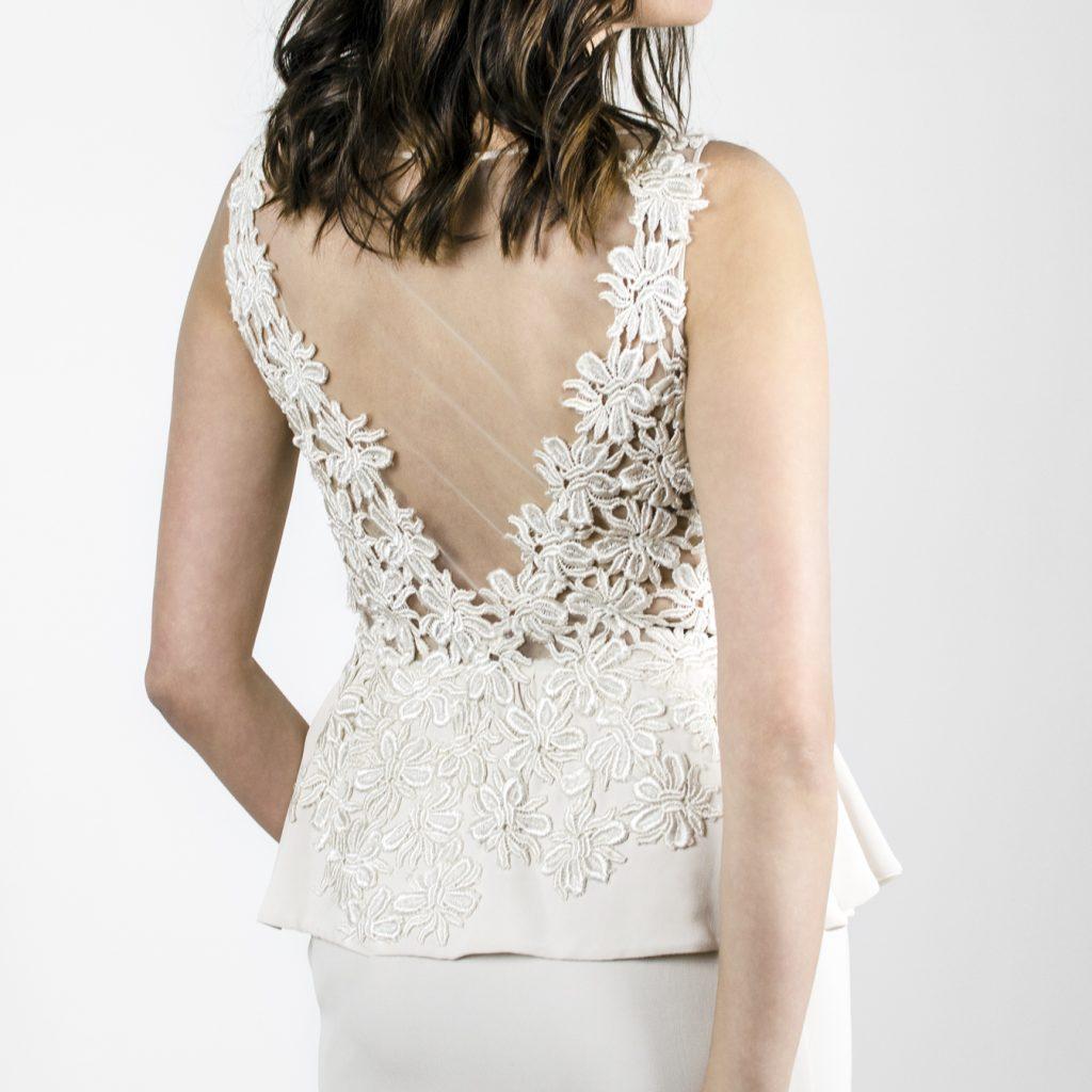 robe de mariée, mariage civil, robe courte