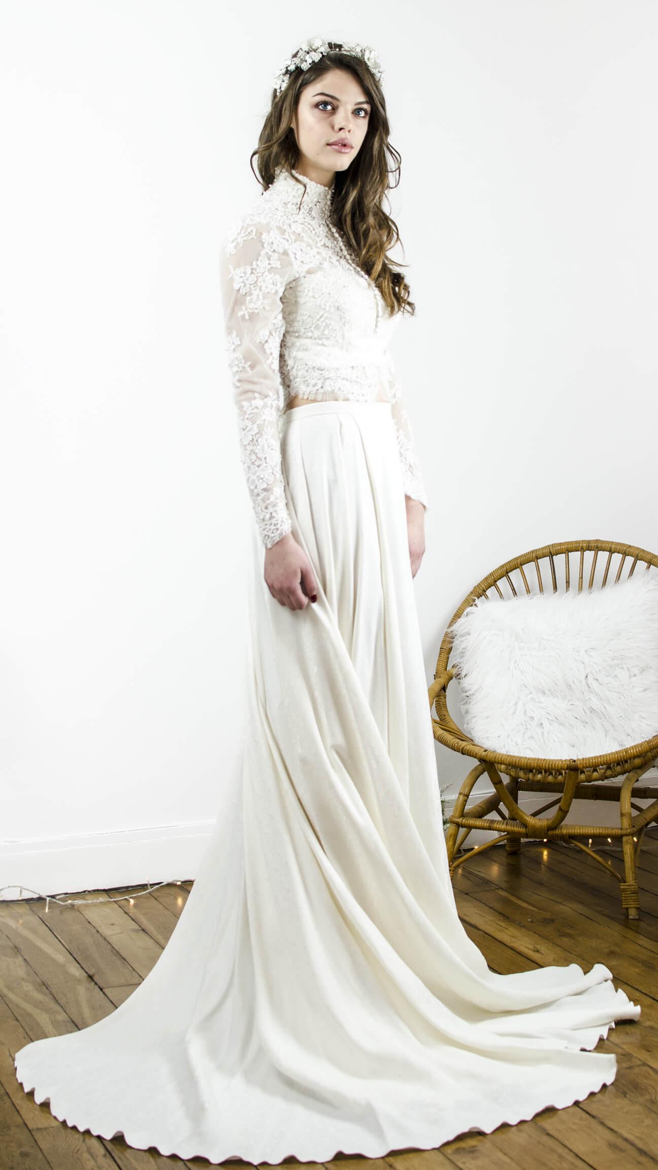 Robe de mariée, robe bohême